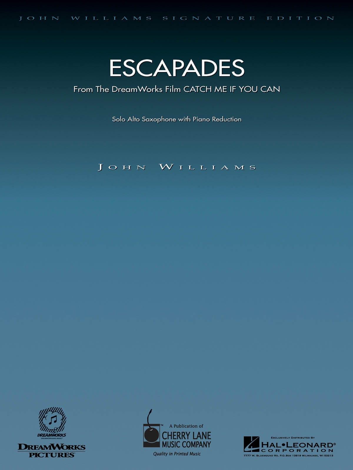 Escapades - John Williams - Partition - Saxophone - laflutedepan.com