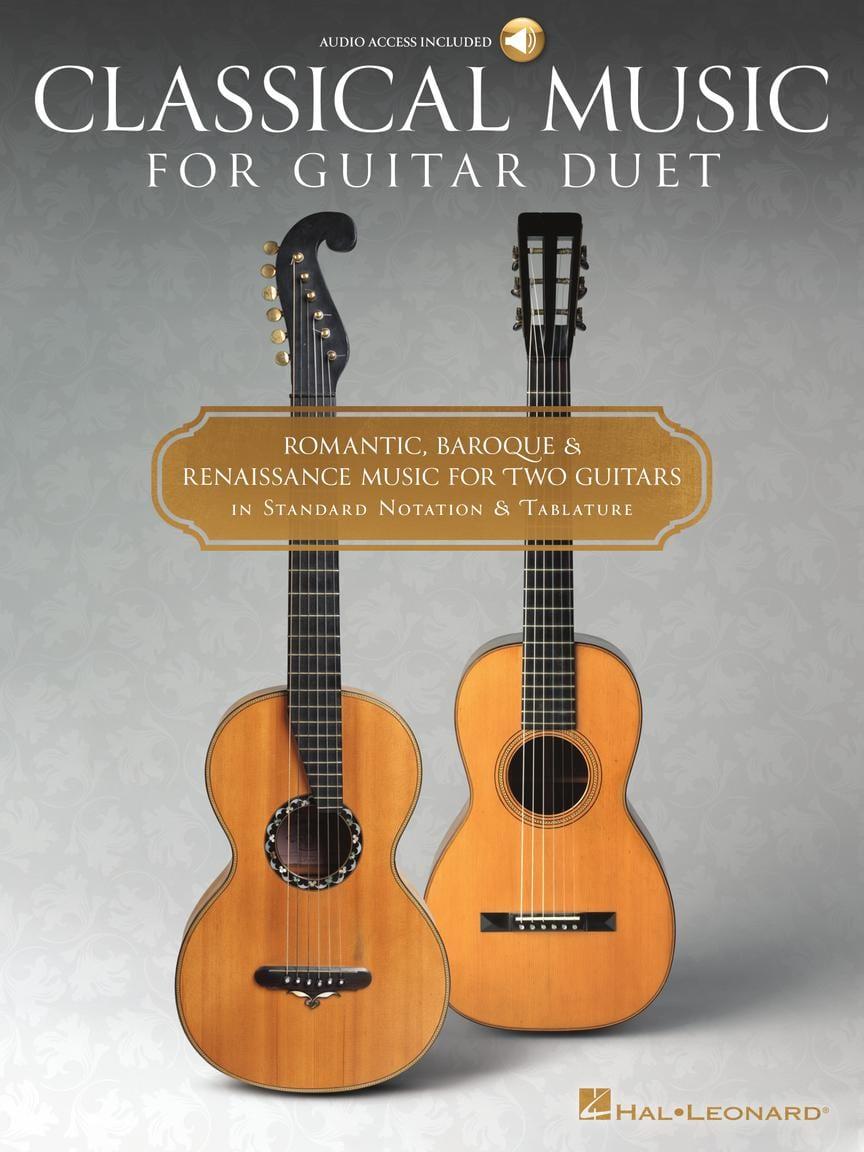 Classical Music for Guitar Duet - Partition - laflutedepan.com