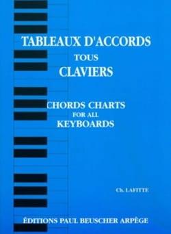 Tableaux D' Accords Tous Claviers Ch. Lafitte Partition laflutedepan