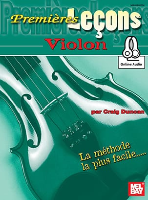 Premières Leçons Violon Craig Duncan Partition Violon - laflutedepan