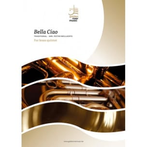Bella Ciao - Brass Quintet Traditionnel Partition laflutedepan