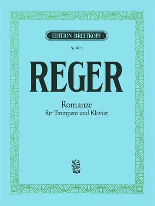 Romanze - Max Reger - Partition - Trompette - laflutedepan.com