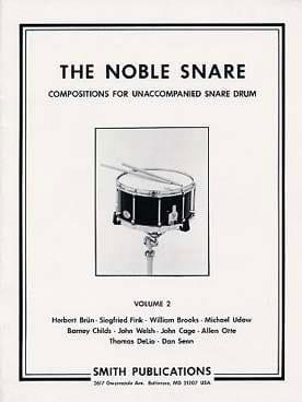 The Noble Snare Volume 2 Partition Caisse-claire - laflutedepan