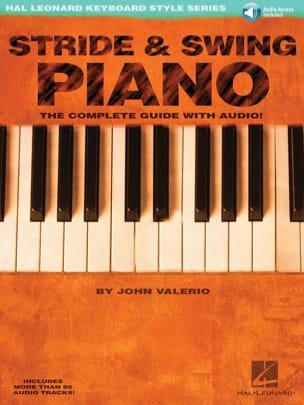Stride & Swing Piano John Valerio Partition Jazz - laflutedepan