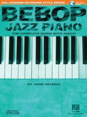 Bebop Jazz Piano John Valerio Partition Jazz - laflutedepan
