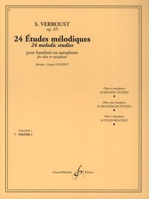 24 Etudes Mélodiques Opus 65 Volume 2 Stanislas Verroust laflutedepan