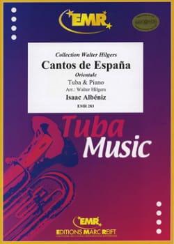 Cantos de Espana Opus 32 N° 2 ALBENIZ Partition Tuba - laflutedepan
