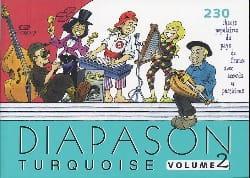 Diapason turquoise volume 2 Partition laflutedepan