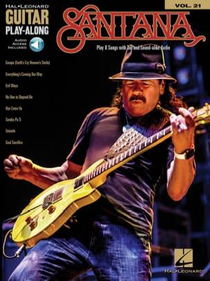 Guitar Play-Along Volume 21 - Santana Carlos Santana laflutedepan