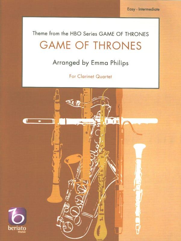 Game of Thrones - Quatuor de Clarinettes - laflutedepan.com