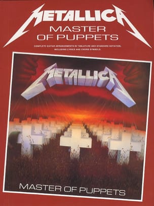 Metallica - Masters Of Puppets - Partition - di-arezzo.co.uk