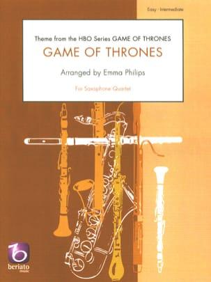 Game of Thrones - Quatuor de Saxophones Ramin Djawadi laflutedepan