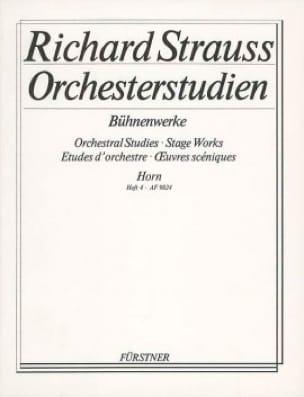 Orchester studien - Bühnenwerke études d'orchestre volume 4 - laflutedepan.com