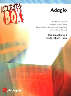 Adagio - music box ALBINONI Partition ENSEMBLES - laflutedepan