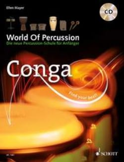 World of Percussion - Conga Ellen Mayer Partition laflutedepan