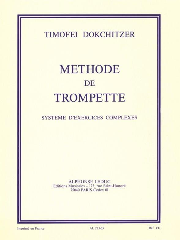 Méthode de Trompette - Dokchitzer - Partition - laflutedepan.com
