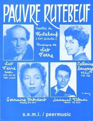 Pauvre Rutebeuf - Léo Ferré - Partition - laflutedepan.com