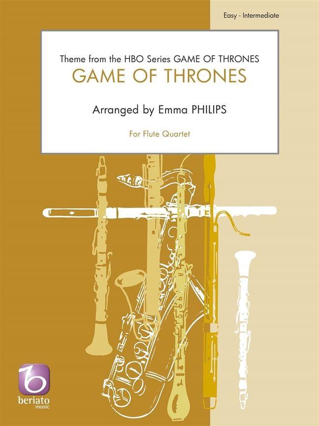 Game of Thrones - Quatuor de Flûtes - Ramin Djawadi - laflutedepan.com