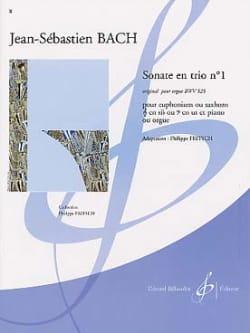 Sonate En Trio N° 1 BWV 525 BACH Partition Tuba - laflutedepan