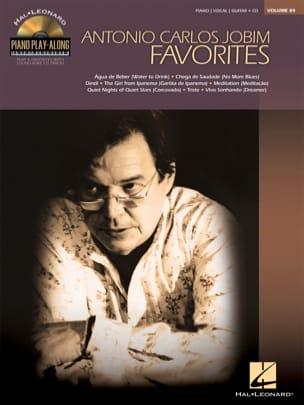 Piano Play-Along Volume 84 - Jobim Favorites laflutedepan