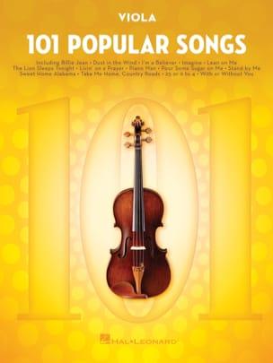 101 Popular Songs Partition Alto - laflutedepan