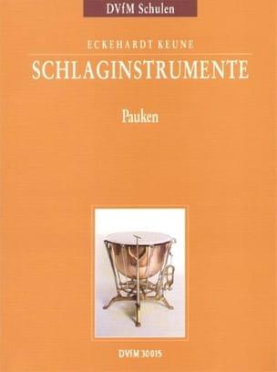 Percussion Instruments Part 2 Eckehardt Keune Partition laflutedepan