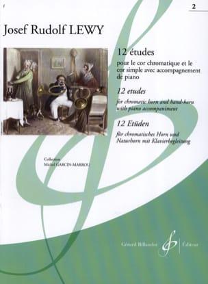 12 Etudes Pour le Cor Volume 2 Josef Rudolf Lewy laflutedepan