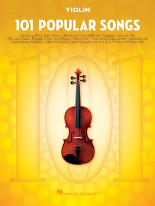 101 Popular Songs Partition Violon - laflutedepan