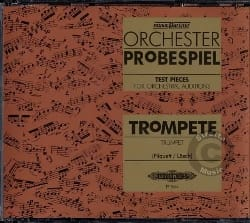 CD Orchester Probespiel - Trumpet - Partition - di-arezzo.com