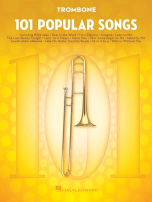 101 Popular Songs Partition Trombone - laflutedepan