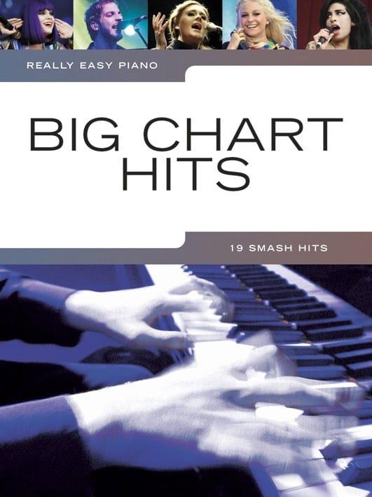 Really easy piano - Big chart hits - Partition - laflutedepan.com