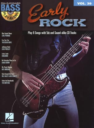 Bass Play-Along Volume 30 - Early Rock Partition laflutedepan