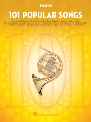 101 Popular Songs Partition Cor - laflutedepan