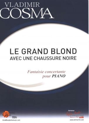 Vladimir Cosma - The Big Blonde With A Black Shoe - Concertante Fantasy for Piano - Partition - di-arezzo.co.uk