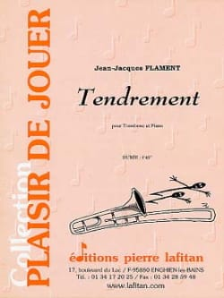 Tendrement Jean-Jacques Flament Partition Trombone - laflutedepan