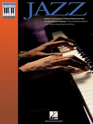 Note-for-Note Keyboard Transcriptions - Jazz Partition laflutedepan