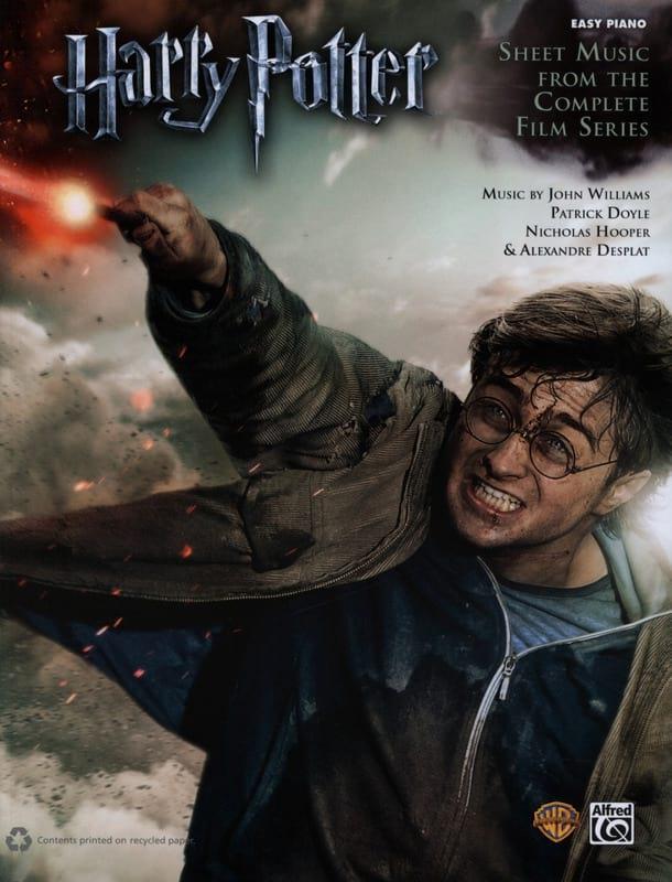 Harry Potter - La série des films au complet - Easy Piano - laflutedepan.com