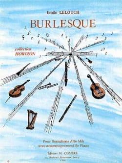 Burlesque Emile Lelouch Partition Saxophone - laflutedepan