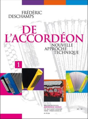 De l'accordéon - Volume 1 - Frédéric Deschamps - laflutedepan.com