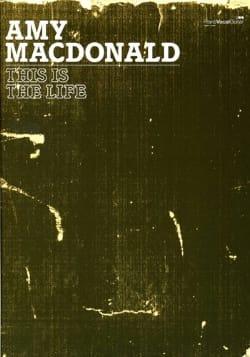 This Is The Life Amy Macdonald Partition Pop / Rock - laflutedepan