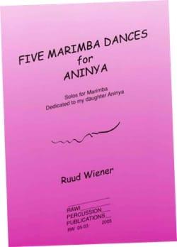 Five marimba dances for Aninya Ruud Wiener Partition laflutedepan