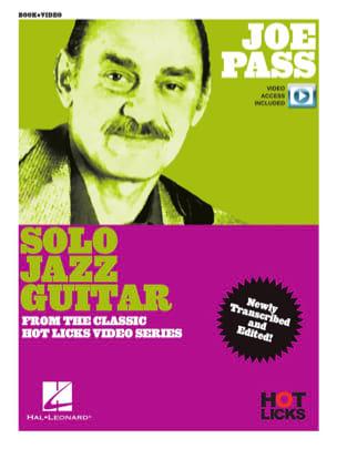 Joe Pass - Solo Jazz Guitar Instructional Book Joe Pass laflutedepan