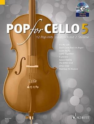 Pop For Cello - Volume 5 Partition Violoncelle - laflutedepan