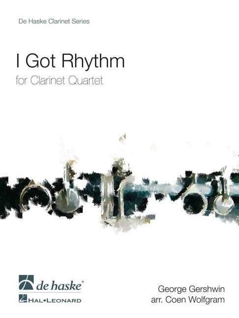 I Got Rhythm - GERSHWIN - Partition - Clarinette - laflutedepan.com