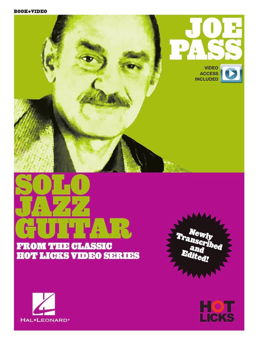 Joe Pass - Solo Jazz Guitar Instructional Book - laflutedepan.com
