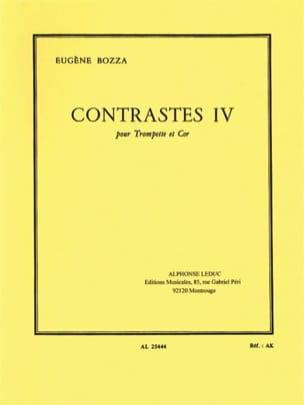 Contrastes IV Eugène Bozza Partition laflutedepan