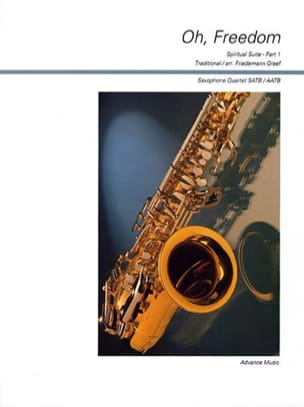 Oh, Freedom Traditionnel Partition Saxophone - laflutedepan