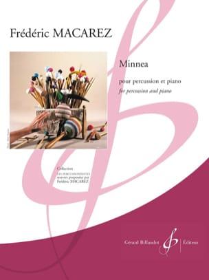 Minnea Frédéric Macarez Partition Multi Percussions - laflutedepan