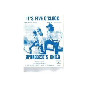 It's Five O'Clock - Aphrodite's Child - Partition - laflutedepan.com