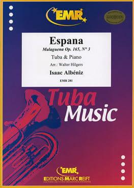 Espana Opus 165 N° 3 ALBENIZ Partition Tuba - laflutedepan
